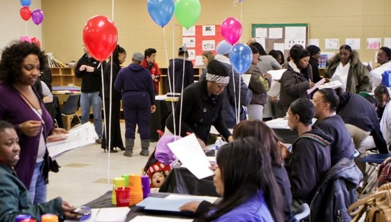 Student lead community health fair